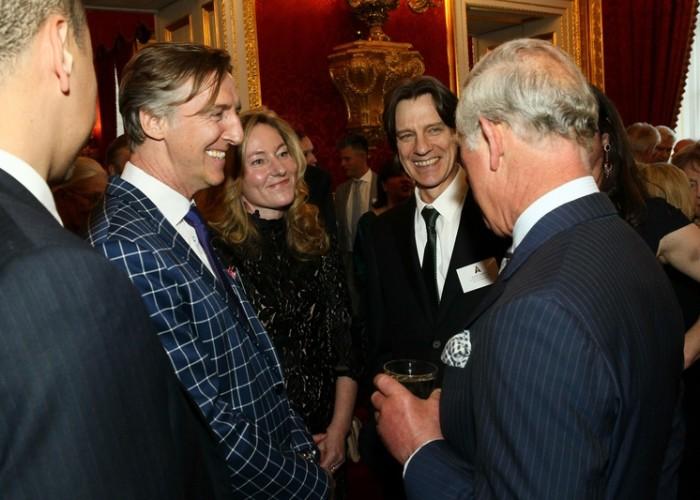 Nick Reed meets British Royalty and fellow British Oscar winners at VIP event at St James Palace