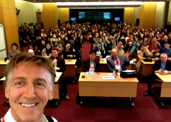 Nick Reed at DICON 2014 in Korea