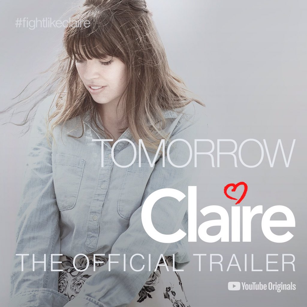 Watch the trailer for Nick Reed's new powerful and inspirational documentary, CLAIRE