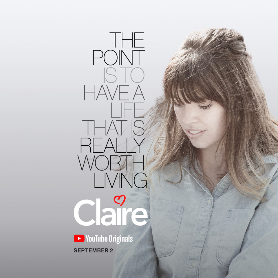 Nick Reed's directorial debut CLAIRE is almost ready!
